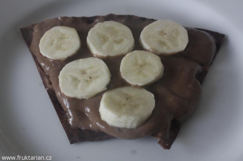 Fruktariánovy 100% banánové kreace aneb přepadly mě banánovo-kakaové chutě