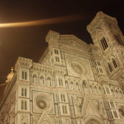 Florencie v noci – všichni jsme součástí jednoho celku…