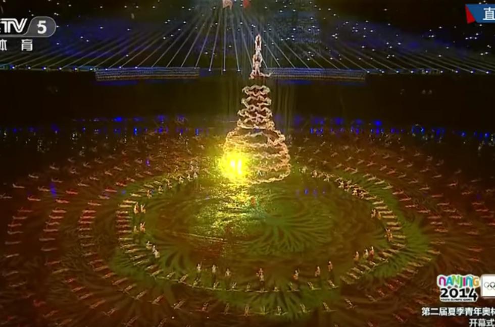 Strom ve vzduchu z 500 tanečníků, naprostá dokonalost!