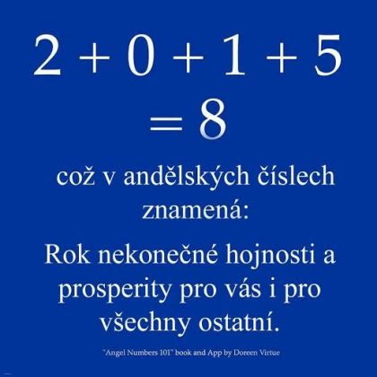 2015 = rok nekonečné hojnosti