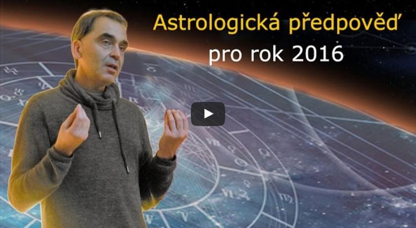 Ondřej Habr: Astrologická předpověď pro rok 2016