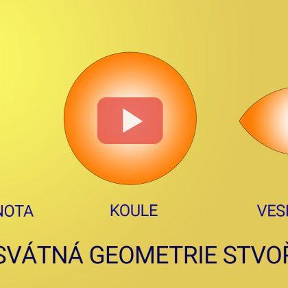 2. webinář o posvátné geometrii: Nicota / Plnota, koule, Vesica Piscis