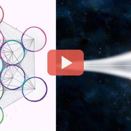 1. webinář o posvátné geometrii: Posvátná geometrie, meditace Merkaba a Merkaba