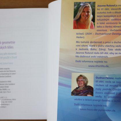 Jeanne Ruland a Gudrun Ferenz: Posvátná geometrie platonských těles – autorky knihy