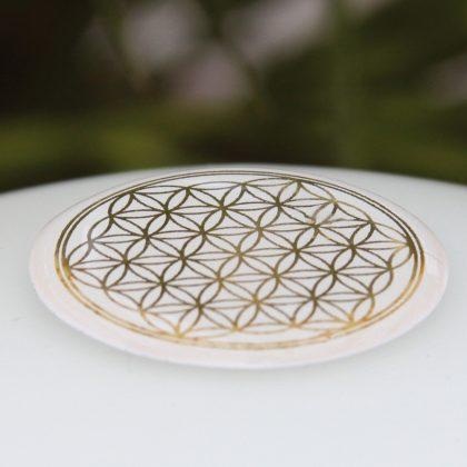 Samolepka-květ-života-zlatá-3-cm-na-mobil-tablet-počítač