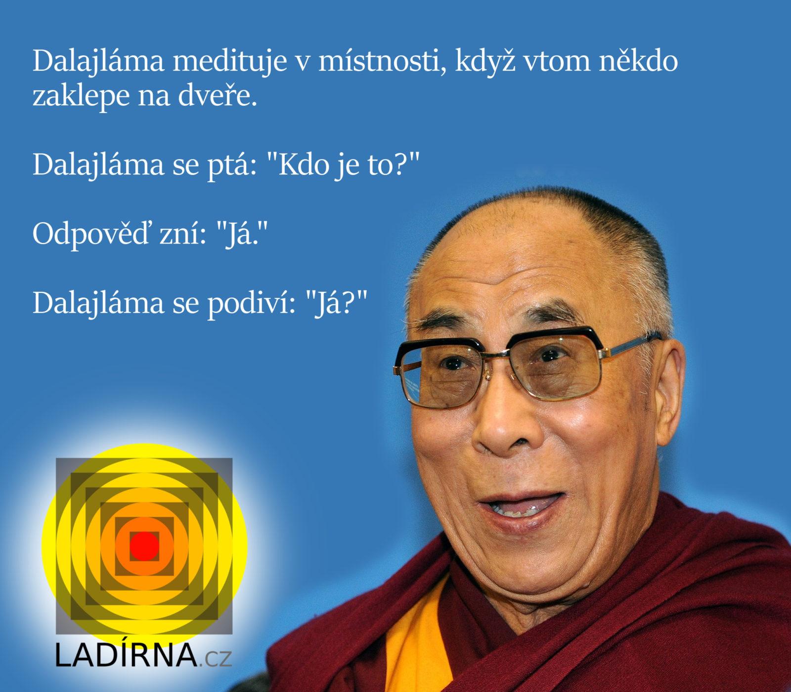 Vtip o Dalajlámovi
