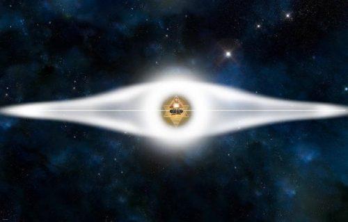 Světelný disk Merkaba