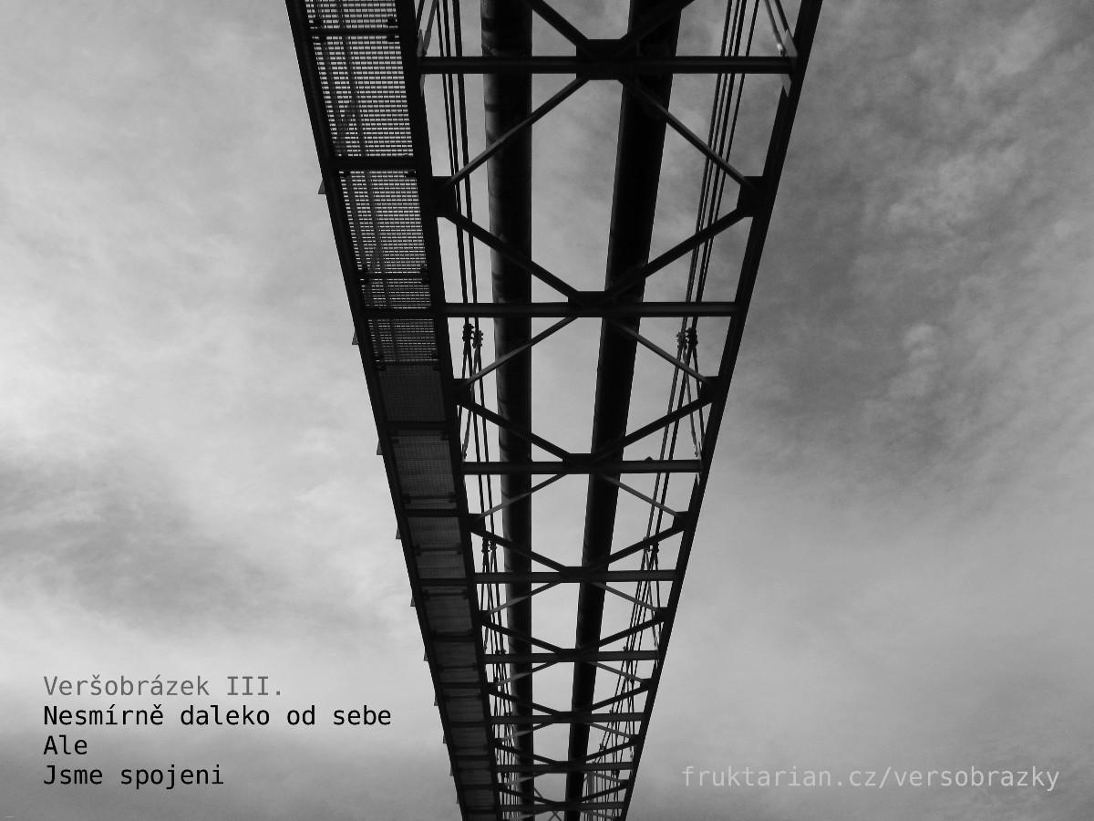 Veršobrázky (8 černobílých fotografií a 24 veršů)