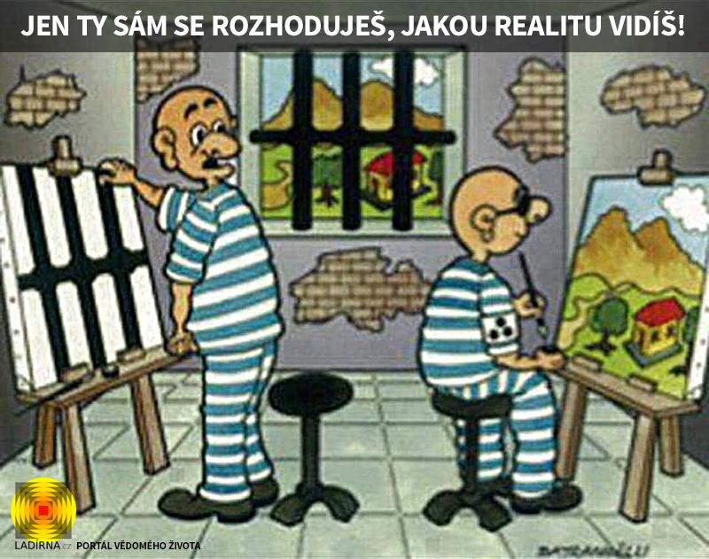 Vtip: Jen ty sám se rozhoduješ, jakou realitu vidíš!