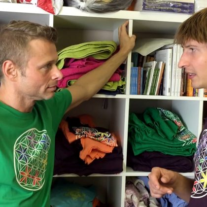 Jarek Šimek na návštěvě v Centru osobního rozvoje Equilibré