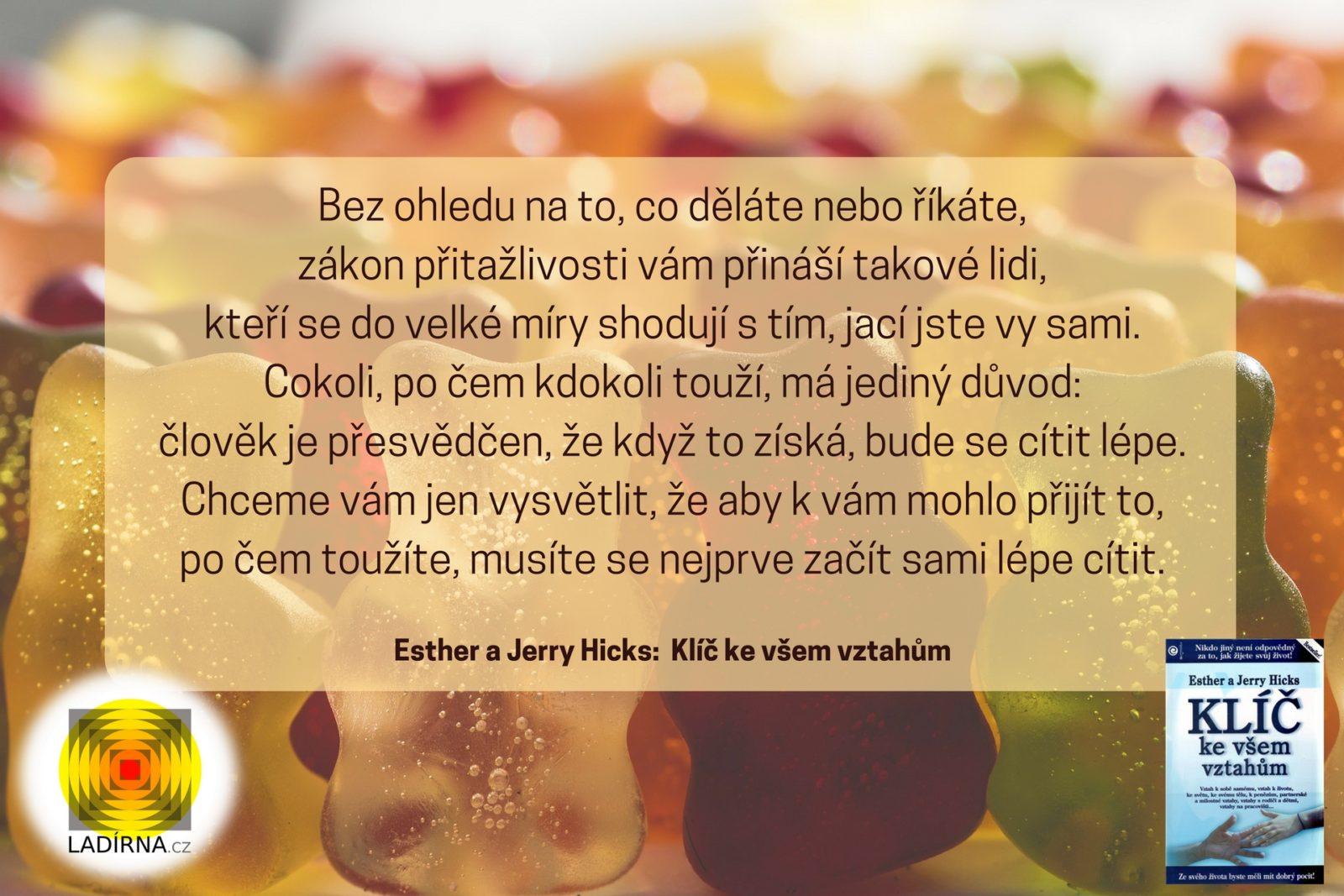 Esther a Jerry Hicks- Klíč ke všem vztahům