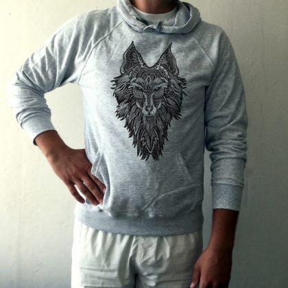 Pánská mikina Vlk