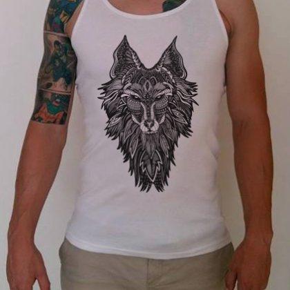 Pánské tílko Vlk
