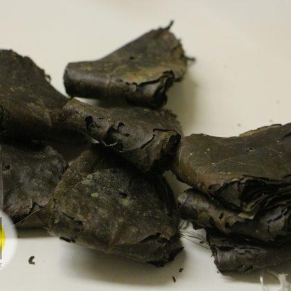 Amazonský čaj wayusa – obsah jednoho 50 g balení po svazcích
