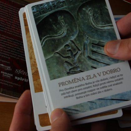 Miloš Matula o meditačních kartách THOVT a CD Zimní meditace