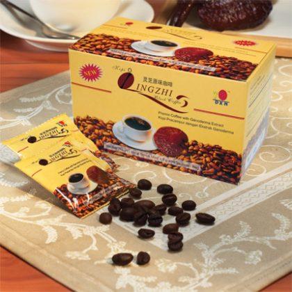 DXN Lingzhi Black Coffee (černá káva s houbou reishi) – vzorek 1 ks
