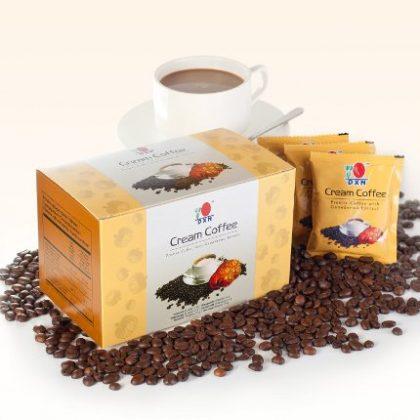 DXN Cream Coffee (káva s houbou reishi a rostlinnou smetanou)