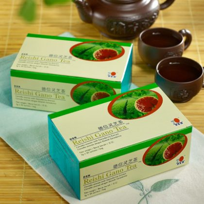DXN Reishi Gano Tea (Čaj s houbou Reishi)