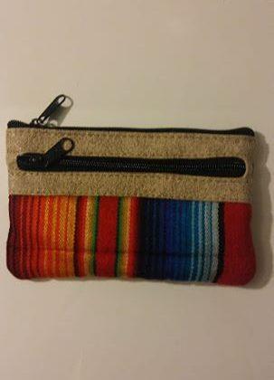 Originální látková peněženka/kapsička z Ekvádoru