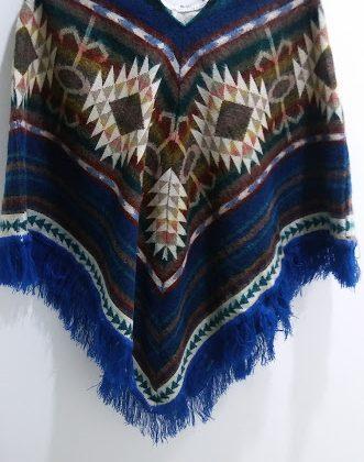 Originální vlněné Pončo-Ekvádor