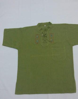 Pánská košile s krátkým rukávem-Ekvádor