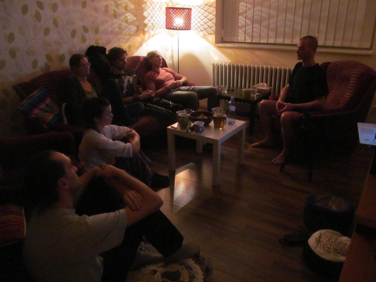 Channelingové setkání s Františkem Hrdým