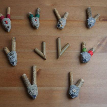 Osobní foukačky na rapé (hapé) - kuripe