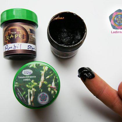 Tabáková pasta Ambil od indiánů Huitoto z Kolumbie, 50 g